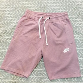 928451 Pink  - Nike Heritage Fleece Shorts Mens
