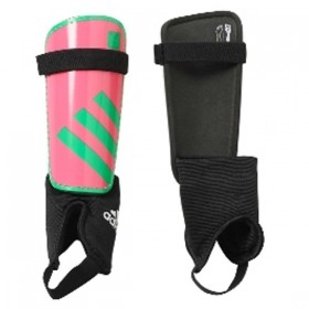 AP8346 - Adidas Ghost Youth Solar Pink/Green Soccer Shinguards