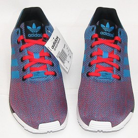 ADIDAS ORIGINALS FLUX WEAVE RED BLUE WHITE