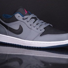 Nike Air Jordan 1 Low Grey Black Pink
